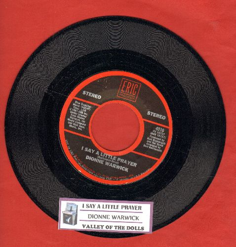 Warwick, Dionne - I Say A Little Prayer/Theme From Valley Of The Dolls (double-hit re-issue with juke box label) - NM9/ - 45 rpm Records