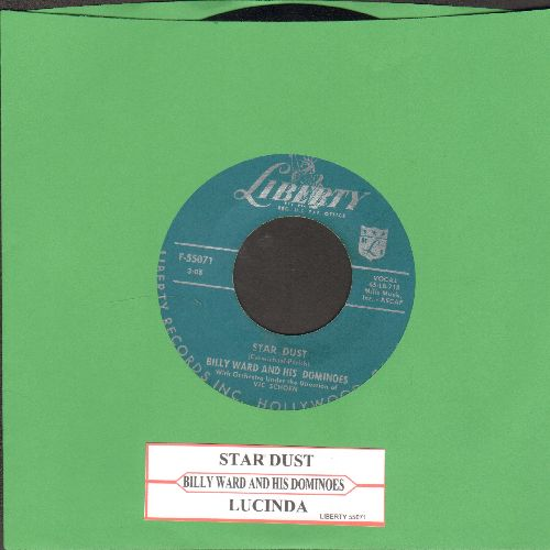 Ward, Billy & The Dominos - Star Dust/Lucinda (with juke box label) - EX8/ - 45 rpm Records