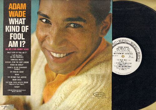Wade, Adam - What Kind Of Fool Am I?: Venus, Moon River, Tammy, Song From Moulin Rouge (Vinyl MONO LP record, DJ advance pressing)) - NM9/EX8 - LP Records