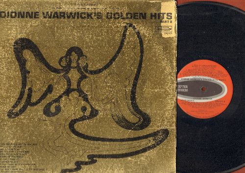 Warwick, Dionne - Golden Hits Part 2: I Say A Little Prayer, Unchained Melody, Do You Know The Way To San Jose, What The World Needs Now (vinyl STEREO LP record, gate-fold cover) - EX8/VG7 - LP Records
