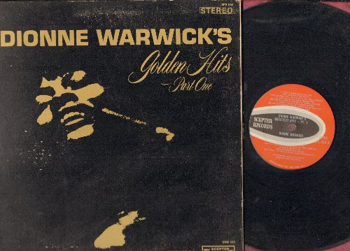 Warwick, Dionne - Golden Hits Part 1: Don't Make Me Over, Wishin' And Hopin', Walk On By, Anyone Who Had A Heart, (There's) Always Something There To Remind Me (Vinyl STEREO LP record, gate-fold cover) - NM9/VG7 - LP Records