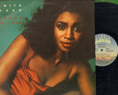 Ward, Anita - Songs Of Love: Ring My Bell (8:08 minutes), Make Believe Lovers (7:00), I Won't Stop Loving You (vinyl STEREO LP record) - EX8/EX8 - LP Records