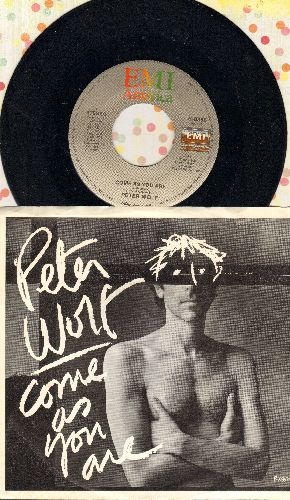 Wolf, Peter - Come As You Are/Thick As Thieves (with picture sleeve) - NM9/EX8 - 45 rpm Records