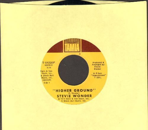 Wonder, Stevie - Higher Ground/Too High - NM9/ - 45 rpm Records