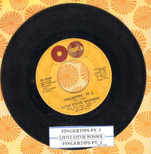 Wonder, Little Stevie - Fingertips (Parts 1+2) (with juke box label) - VG7/ - 45 rpm Records