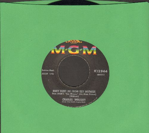 Wolcott, Charles & MGM Studio Orchestra - Ruby Duby Du From Key Witness/Leatherjacket Cowboy  - EX8/ - 45 rpm Records