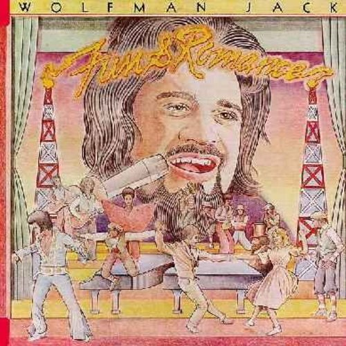 Wolfman Jack - Fun & Romance: Ghost Story, (You've Got) Personality, Tears On My Pillow, The You Can Tell Me Goodbye (Vinyl STEREO LP record, DJ copy) - NM9/NM9 - LP Records