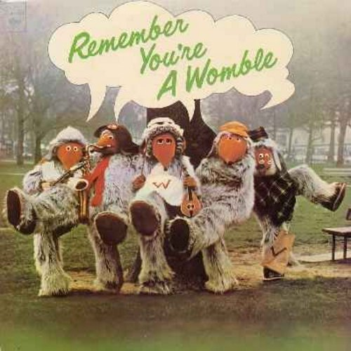 Wombles - Remember You're A Womble: Wombling Summer Party, Wimbledon Sunset, Banana Rock, The Womble Square Dance, Wellington Womble (Vinyl STEREO LP record) - NM9/EX8 - LP Records