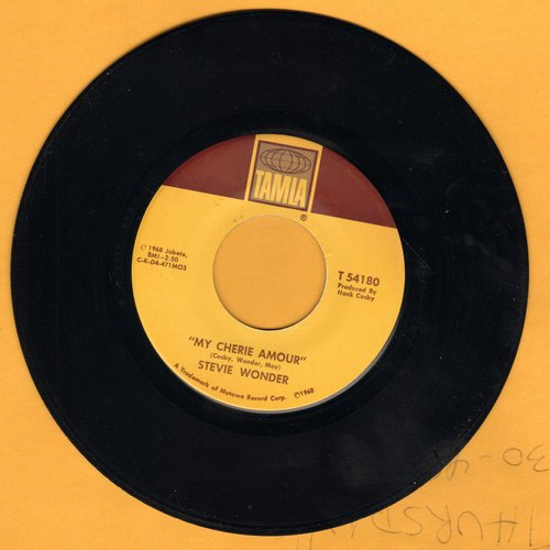Wonder, Stevie - My Cherie Amour/I Don't Know Why  - VG7/ - 45 rpm Records