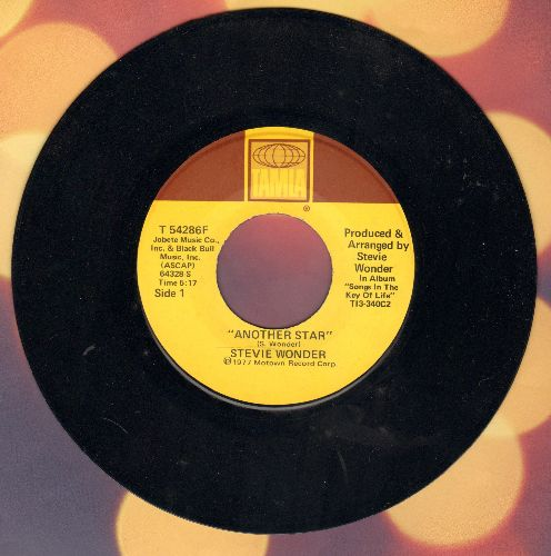 Wonder, Stevie - Another Star/Creepin' - NM9/ - 45 rpm Records