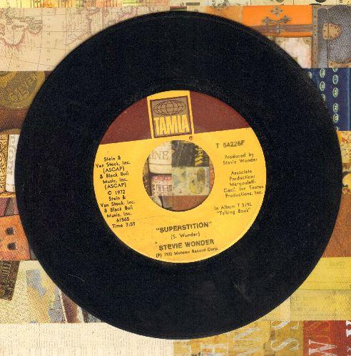 Wonder, Stevie - Superstition/You've Got It Bad Girl  - VG7/ - 45 rpm Records