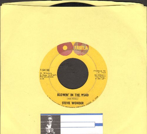 Wonder, Stevie - Blowin In The Wind/Ain't That Asking For Trouble (bb) - VG7/ - 45 rpm Records