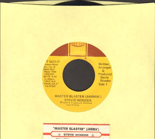 Wonder, Stevie - Master Blaster (Jammin')/Master Blaster (Dub)(with juke box label) - EX8/ - 45 rpm Records