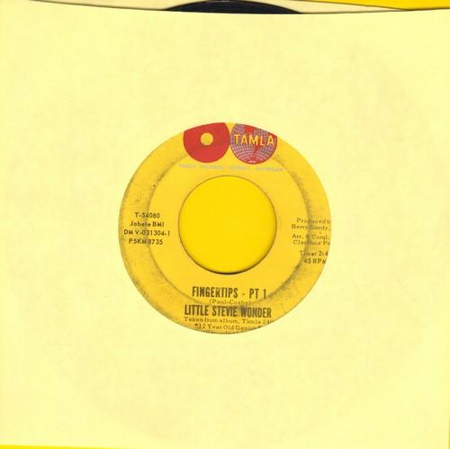 Wonder, Little Stevie - Fingertips (Parts 1+2)  - VG6/ - 45 rpm Records