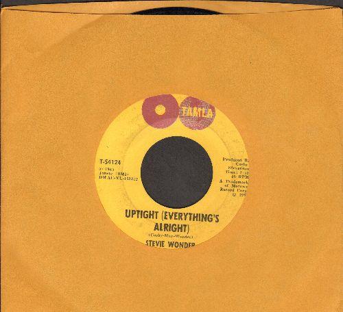 Wonder, Stevie - Uptight (Everything's Alright)/Purple Raindrop  - VG7/ - 45 rpm Records