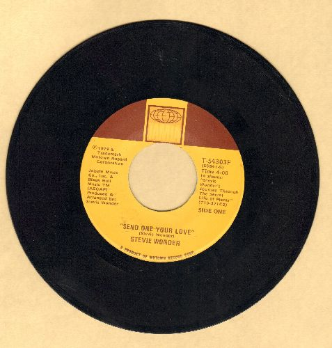 Wonder, Stevie - Send One Your Love/Send One Your Love (Instrumental)  - NM9/ - 45 rpm Records