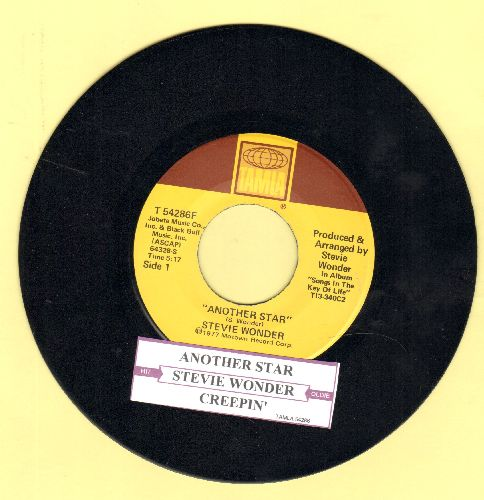 Wonder, Stevie - Another Star/Creepin' (with uke box label) - NM9/ - 45 rpm Records