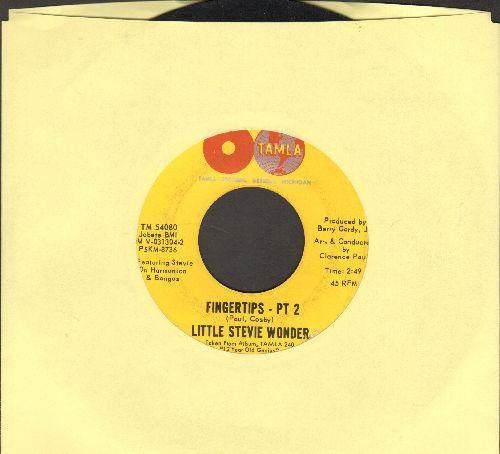 Wonder, Little Stevie - Fingertips (Parts 1+2)  - EX8/ - 45 rpm Records