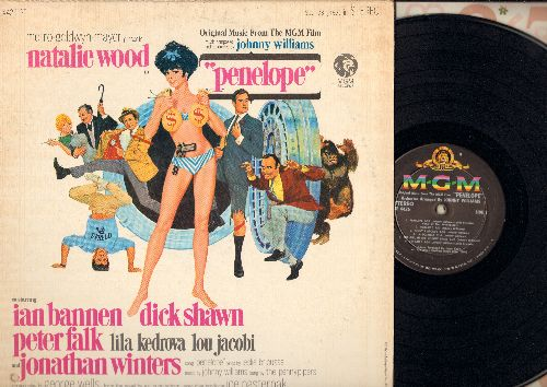 Penelope - Penelope: Oriignal Music from the MGM film, Music composed and conducted by Johnny Williams (Vinyl STEREO LP record) - NM9/EX8 - LP Records