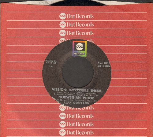 Copeland, Alan - Mission: Impossible Theme/Quincy Park (with ABC company sleeve) - NM9/ - 45 rpm Records