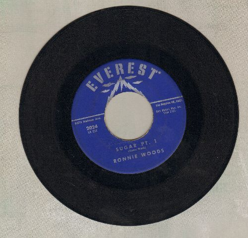 Woods, Ronnie - Sugar (Parts 1+2) - EX8/ - 45 rpm Records