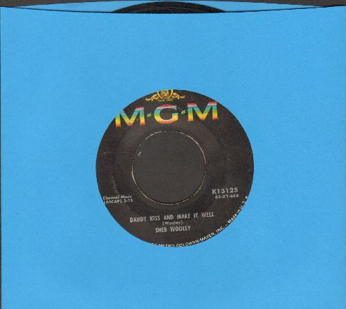 Wooley, Sheb - Daddy Kiss And Make It Well/Little Bitty Bilbo Abernathy Nathan Allen Quincy Jones - VG7/ - 45 rpm Records