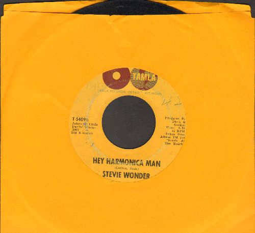 Wonder, Stevie - Hey Harmonica Man/This Little Girl (wol) - VG7/ - 45 rpm Records