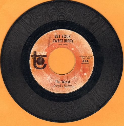 Wrest - Bet Your Sweet Bippy/Hatfield Junction (wol) - VG7/ - 45 rpm Records
