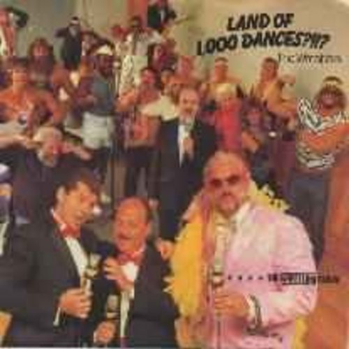 Wrestlers - Land Of 1,000 Dances ?!!?/Captain Lou's History Of The World/Captain Lou (with picture sleeve) - NM9/EX8 - 45 rpm Records
