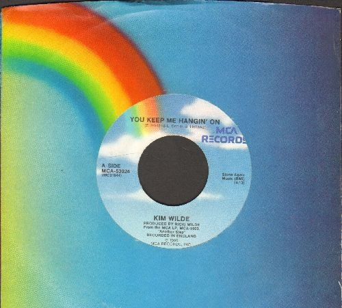 Wilde, Kim - You Keep Me Hangin' On/Loving You (with MCA company sleeve) - EX8/ - 45 rpm Records