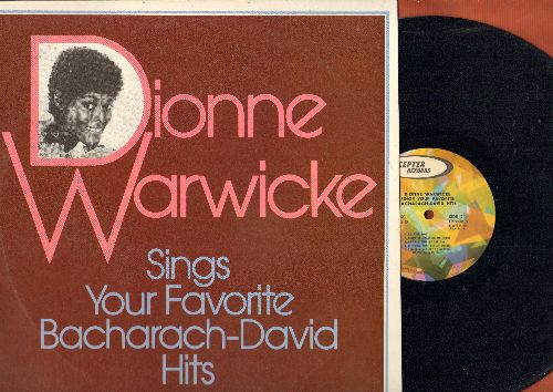 Warwicke, Dionne - Your Favorite Bacharach-David Hits: Walk On By, Wishin' And Hopin', Don't Go Breaking My Heart (vinyl STEREO LP record) - NM9/NM9 - LP Records