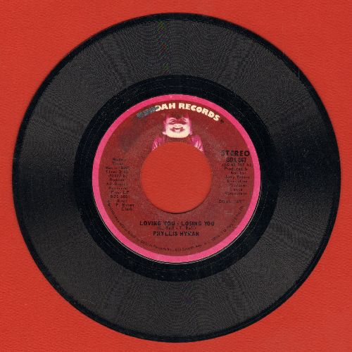 Hyman, Phyllis - Loving You - Losing You/Children Of The World - NM9/ - 45 rpm Records