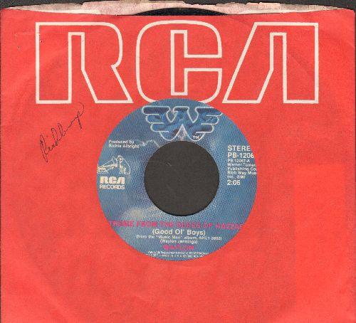 Waylon (Jennings) - Theme From The Dukes Of Hazzard (Good Ol' Boys)/It's Alright (with RCA company sleeve) - EX8/ - 45 rpm Records