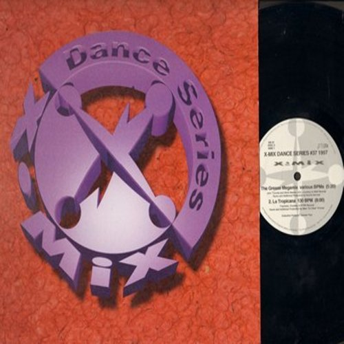 X-Mix Dance Series - X-Mix Dance Series #37 1997: The Grease Megamix (5:20 minutes)/La Tropicana (8:00)/Colour Of Love (6:63)/The Gift (7:27) (12 inch 33rpm Maxi Single with cover) - NM9/EX8 - LP Records