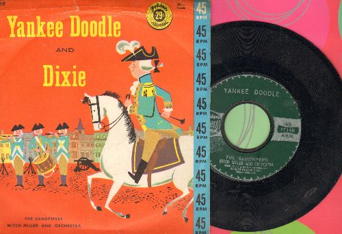Sandpipers - Yankee Doodle/Dixie (with picture cover) - NM9/VG7 - 45 rpm Records