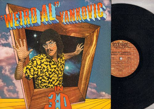 Yankovic, Weird Al - Weird Al Yankovic In 3-D: Eat It, The Brady Bunch, I Lost On Jeopardy, Polkas On 45 (Vinyl STEREO LP record) - NM9/NM9 - LP Records