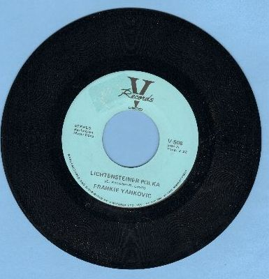 Yankovic, Frankie - Liechtensteiner Polka/Just Because Polka - NM9/ - 45 rpm Records