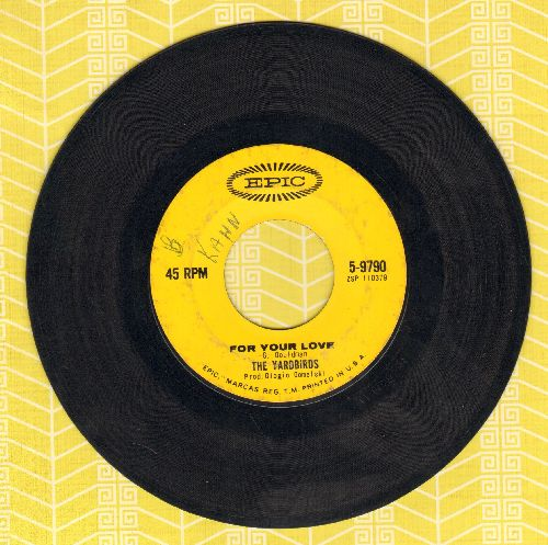 Yardbirds - For Your Love/Got To Hurry - VG7/ - 45 rpm Records
