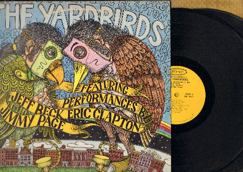 Yardbirds - The Yardbirds Featuring Performances By Jeff Beck, Eric Clapton, Jimmy Page (2 vinyl STEREO LP record, gate-fold cover) - NM9/VG7 - LP Records