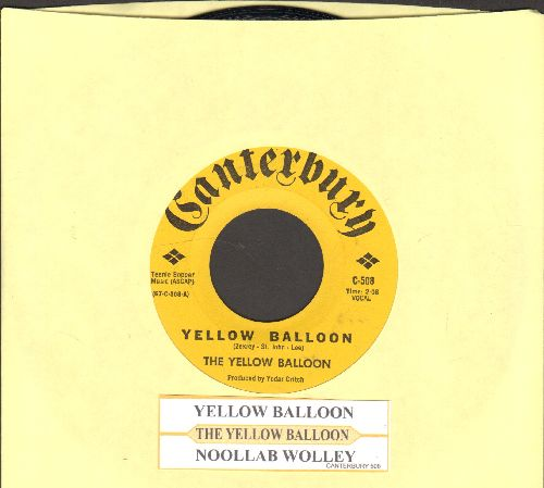 Yellow Balloon - Yellow Balloon/Noollab Wolley (with juke box label) - NM9/ - 45 rpm Records
