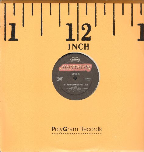 Yello - Oh Yeah (6:25 Dance Mix)/Oh Yeah (5:30 Indian Summer Mix) (12 inch vinyl Maxi Single with company cover) - NM9/ - LP Records