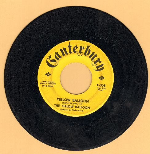 Yellow Balloon - Yellow Balloon/Noollab Wolley - EX8/ - 45 rpm Records