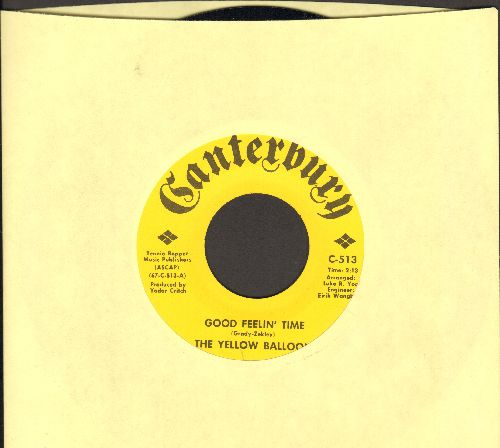 Yellow Balloon - Good Feelin' Time/I've Got A Feeling For Love (MINT condition!) - M10/ - 45 rpm Records