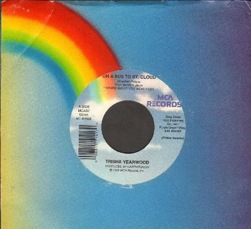 Yearwood, Trisha - On A Bus To St. Cloud/O Mexico (with MCA company sleeve) - NM9/ - 45 rpm Records