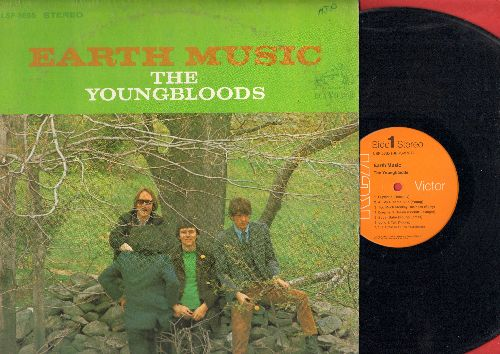 Youngbloods - Earth Music: Euphoria, Reason To Believe, Dreamer's Dream, Sugar Babe (vinyl STEREO LP record) - EX8/VG7 - LP Records