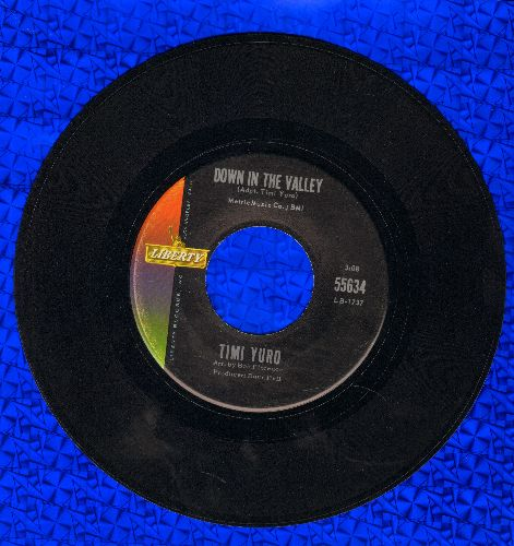 Yuro, Timi - Down In The Valley/Gotta Travel On - NM9/ - 45 rpm Records