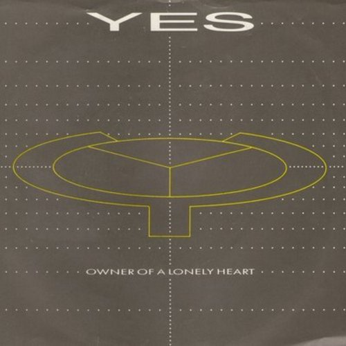 Yes - Owner Of A Lonely Heart/Our Song (with picture sleeve) (woc) - EX8/VG7 - 45 rpm Records