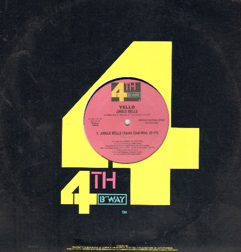 Yello - Jingle Bells (3 different Extended Tracks on 12 inch vinyl Maxi Single with company cover) - NM9/ - Maxi Singles