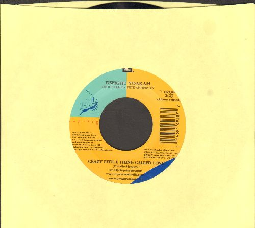 Yoakam, Dwight - Crazy Little Thing Called Love/Thinking About Leaving - NM9/ - 45 rpm Records