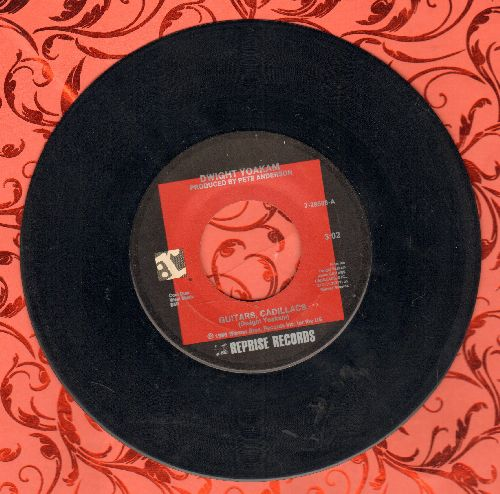 Yoakam, Dwight - Guitars, Cadillacs/I'll Be Gone - EX8/ - 45 rpm Records